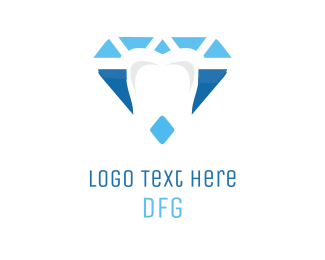 Orthodontist - Diamond Dental Clinic logo design