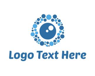 Wash - Bubble Vision logo design