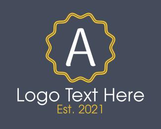 Emblem - Letter A Emblem logo design
