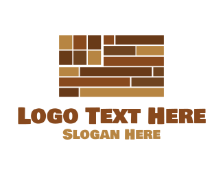 Carpenter - Flag Flooring logo design