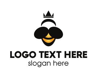 Queen - Queen Bee logo design
