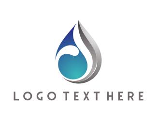 Drop - Modern Water Drop logo design