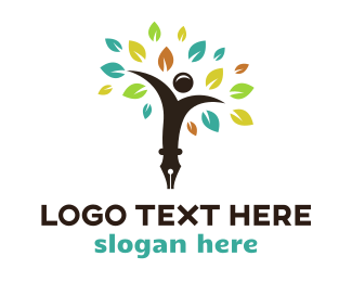 Tree - Smart Tree  logo design
