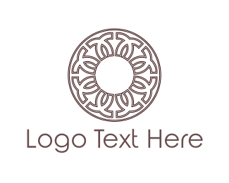 Frisbee - Greek Circle logo design