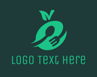 Homemade - Apple Cutlery logo design