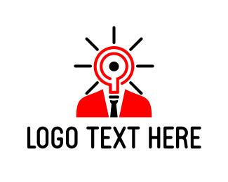 Smart - Bright Idea logo design