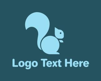 Wild Animal - Abstract Squirrel Logo logo design