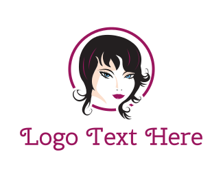 Hairdresser - Fashion Woman logo design