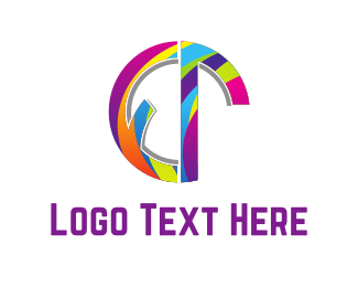 Multicolor - Rainbow Circle  logo design