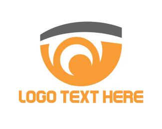 """Orange Eye"" by Logobrands"