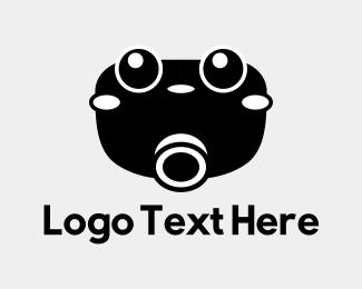 Photograph - Cute Camera logo design