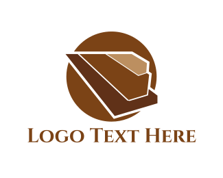 Cacao - Wood Pyramid logo design