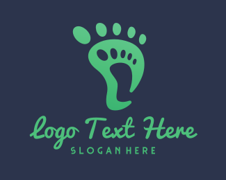 Podiatry - Two Feet logo design