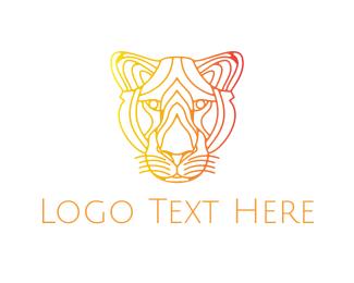 Tiger - Minimalist Tiger logo design