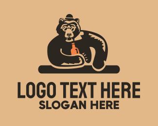 Advertising - Bear Bar logo design