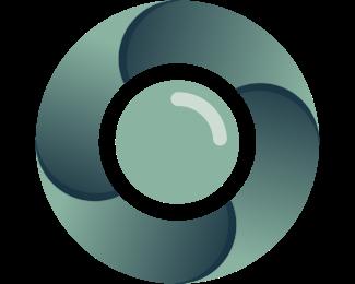 Vlog - Round Camera logo design