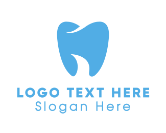 Light Blue - Abstract Blue Tooth logo design