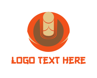 China - Zen Buddha logo design