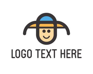 Cap - Child Hat logo design