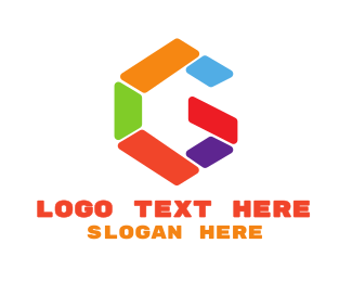 Day Care - Colorful G Shape logo design