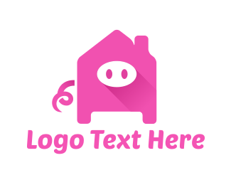Pig - Pig Home  logo design