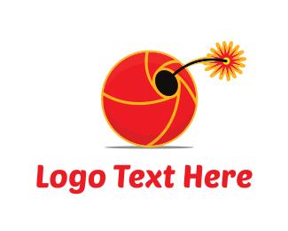 Fireworks - Explosive Shutter logo design