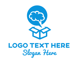 Smart - Brain Box logo design