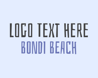 Surfer - Bondi Beach logo design