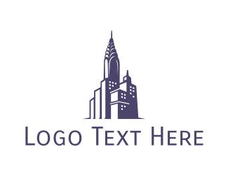 Ny - Blue Chrysler City logo design