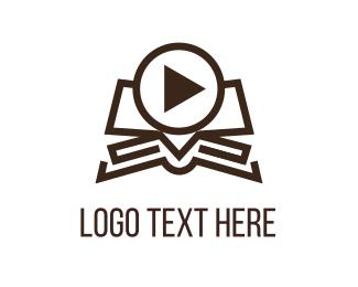 Video Production - Video Book logo design