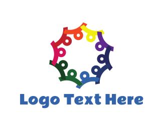 Diversity - Colorful Community logo design