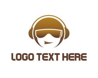 Sound - Music Dude logo design