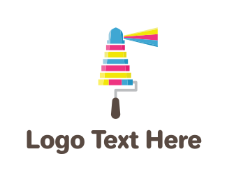 Paint - Ink Lighthouse logo design