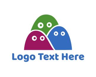 Ghost - Ghost Trio logo design