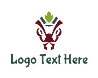 Warriors - Red Ant logo design