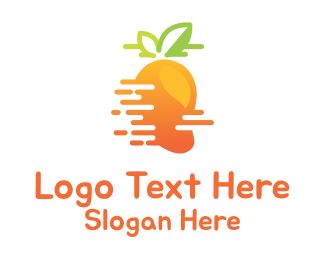 Tropical - Fast Mango logo design
