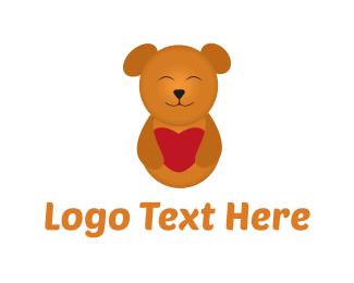 Cute Teddy Bear Logo