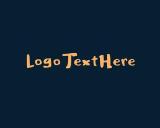 Hand-drawn - Thick Handwritten Font logo design