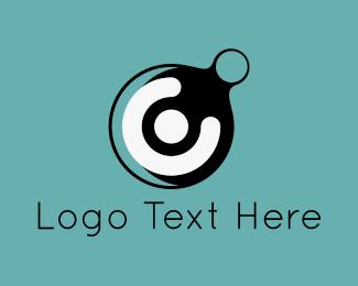Bubbles - Bubble Letter C logo design