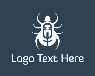 Spider - White Spider logo design
