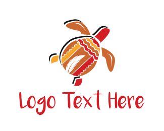Tribal - Tribal Turtle logo design
