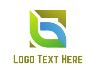 Biotech - Eco Square logo design