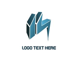 3d - Solvers logo design