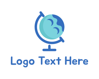 Geography - Happy Planet logo design