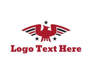 Esports - Patriotic Bird logo design