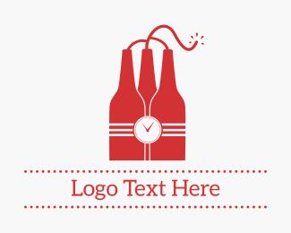 Beer - Dynamite Beer logo design