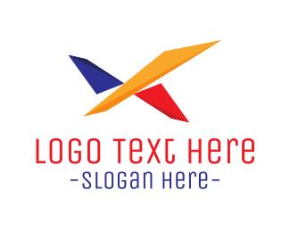 Geometric - Geometric Bird logo design