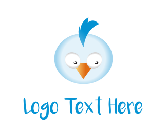Chick - Blue Chicken logo design