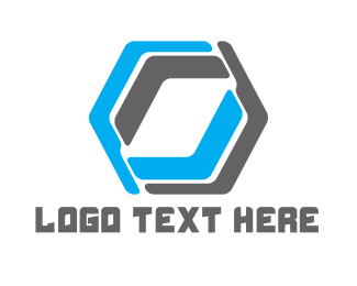 """Abstract Hexagon"" by LogoBrainstorm"