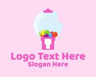 Bite - Gum Machine logo design